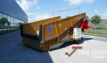Breston Z2500X ECO stortbak sturzbunker schuettbunker stortbunker receiving hopper
