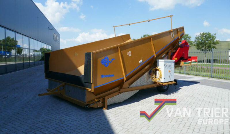 Breston Z2500X ECO stortbak sturzbunker schuettbunker stortbunker receiving hopper