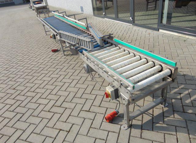 Aangedreven rollenleesbaan 5 meter vol