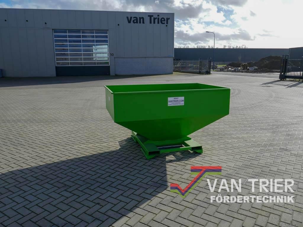 Ongebruikt Gemakkelijk een industriële trechter huren bij Van Trier Europe! SK-84