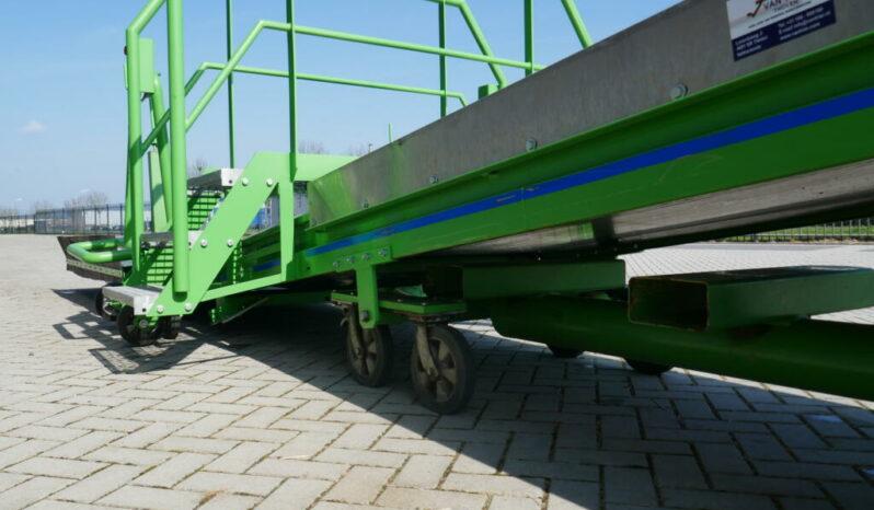 Breston 8-100 Zugwagen entlader voll