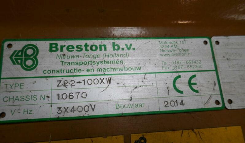 Breston ZT22-100XW hallenvuller vol