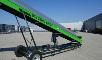 Van Trier 10,5-80 transportband met overkapping vol