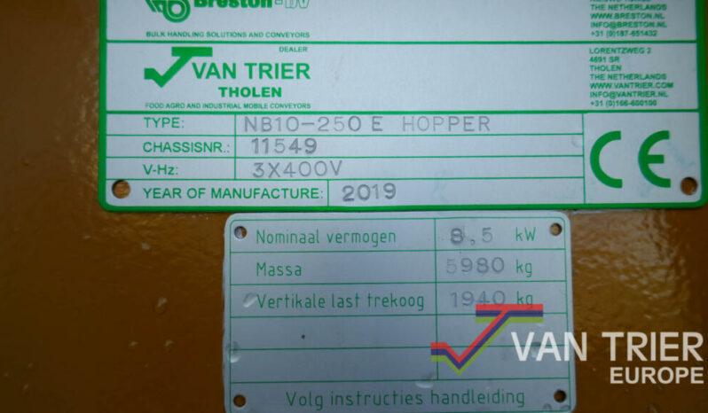 Breston NB10-250 Doseerhopper 7 meter vol