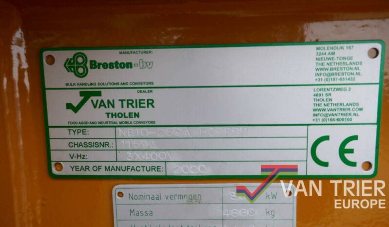 Breston NB10-250 Doseerhopper 5 meter vol