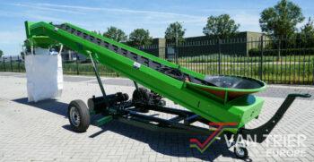 Van Trier transportband förderband elevator big bag filler vuller füller (1 van 19)