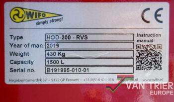 WIFO Schepbak HOD-200-RVS vol