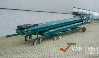 All Round duoband dual belt conveyor 2x8-80