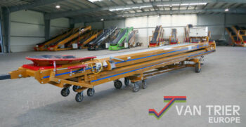 Breston ZD17-80 2x8-80 duoband dual conveyor telescopic