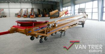 Breston ZD17-80 duoband 2x8 telescopic conveyor dual conveyor