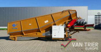 Breston Z2500XL Stortbak stürzbunker receiving hopper