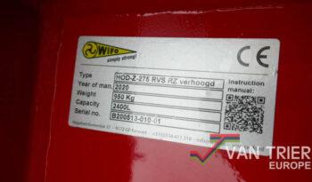 WIFO Schepbak HOD-Z-275-RVS vol
