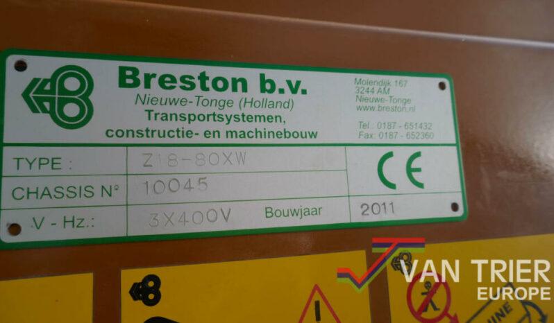 Breston Z18-80XW hallenvuller vol