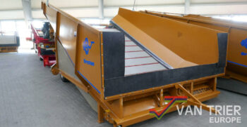 Breston Z2500X stortbak sturzbunker receiving hopper