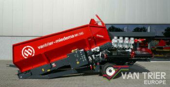 Miedema Van Trier MH240 stortbak stuerzbunker receiving hopper