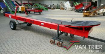 Van Trier 6-80 doorvoerband transportband foerderband conveyor belt