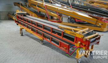 Climax CDT1200 duoband dual belt conveyor
