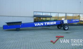 Van Trier hoge capaciteit doorvoerband foerderband transportband zand sand conveyor belt high capacity