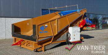 Breston Z2500SpeedX Z 2500 SpeedX reiniger stortbak stortbunker schuettbunker stuerzbunker receiving hopper