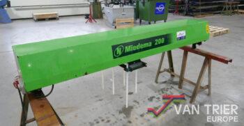 Miedema RZR 200 vingerreiniger stortbak stuerzbunker receiving hopper