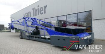 Van Trier TC30-140 scheepsbelader ship loader schifflader hallenvuller hallenfueller store loader boxenvuller boxenfueller