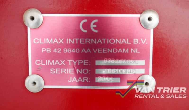 Climax CSB2600XL Stortbak vol