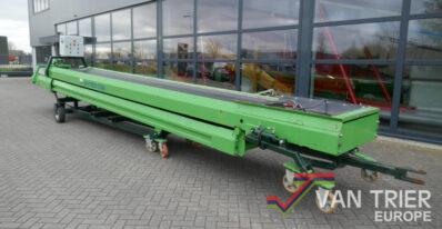 Van Trier duoband 16 m 2x8-85 dual belt conveyor duo band