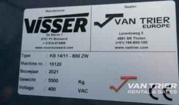 Visser Van Trier KB14-80 Hallenvuller vol