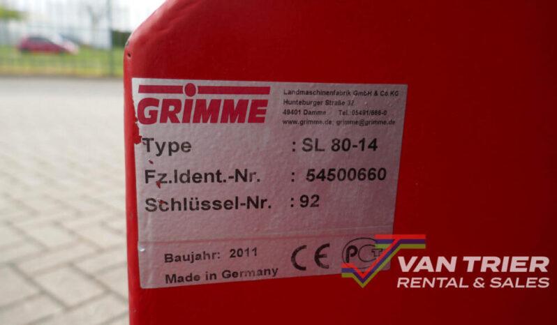 Grimme SL80-14 Hallenvuller vol